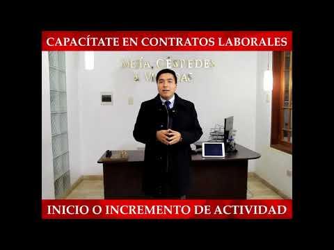 Capacítate En Contratos Laborales  (II)