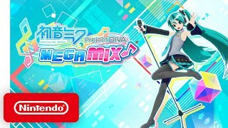 Download Hatsune Miku: Project DIVA Mega Mix - Announcement Trailer - Nintendo Switch Mp3 and Videos