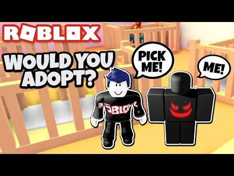 WOULD YOU ADOPT A GUEST 666 OR BLOX WATCH BABY? Roblox Roleplay w/ Cybernova! Robloxian Life