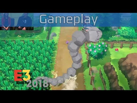 Pokémon: Let's Go, Pikachu! - E3 2018 Gameplay [HD]