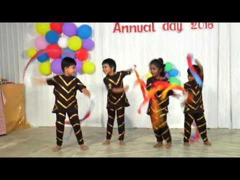 Open Kannan Star song dance, Capitanio Nursery School, Annual Day 2016