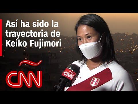 Keiko Fujimori busca la presidencia de Perú por tercera vez: mira su trayectoria