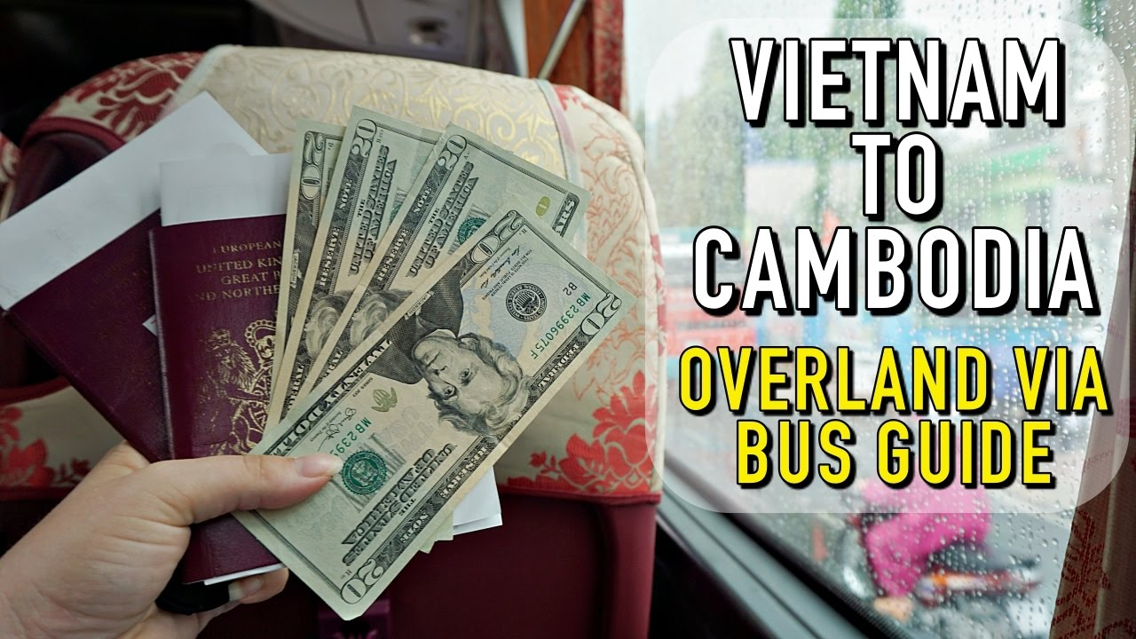 GETTING FROM HO CHI MINH CITY TO PHNOM PENH BY BUS!