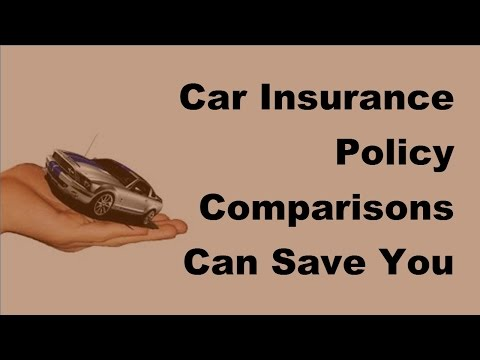 Car Insurance Policy Comparisons Can Save You A Bundle  - 2017 Compare Car Insurance