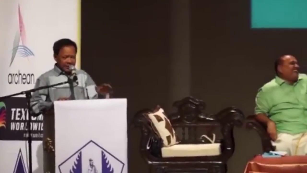 Mohana Sundaram COMEDY Speech Latest @ Indonesia Tamil