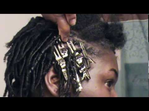 How To Do Comb Twists Starter Locs Didnt like Salon set