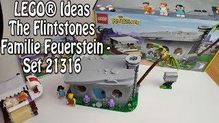 REVIEW: LEGO The Flintstones (Ideas Set 21316)