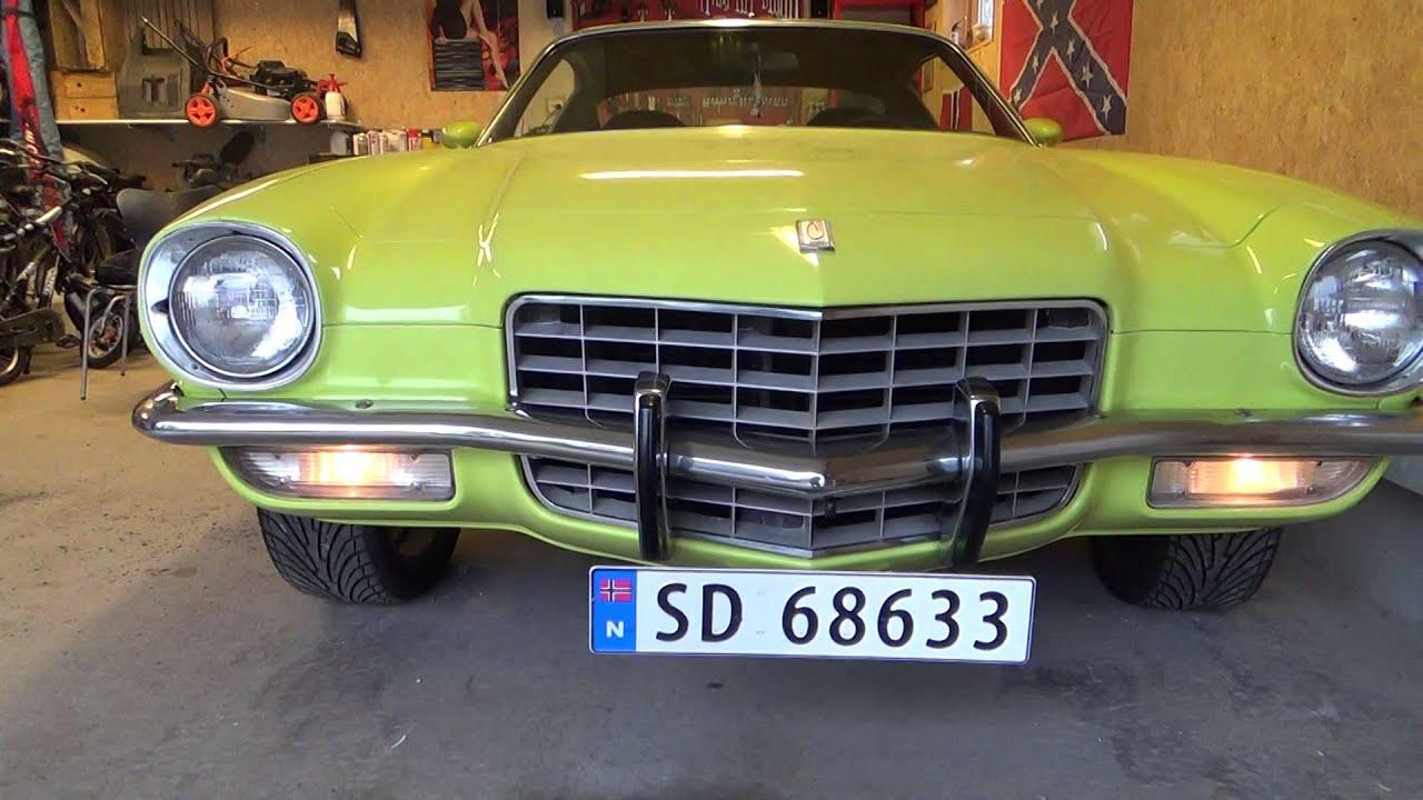 1973 Camaro Z28 Type Lt