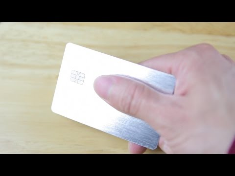 Metal Credit Card Prestige