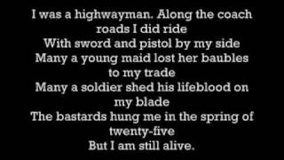 The Highwaymen - Highwayman (W. Nelson, K. Kristofferson, W. Jennings, J. Cash)