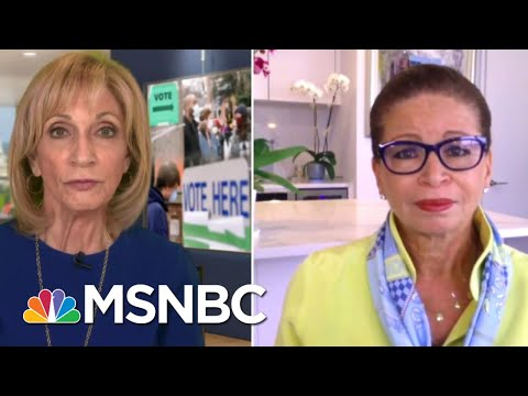 Trump 'Is Fueling Anxiety About The Integrity Of Our Election' | Andrea Mitchell | MSNBC