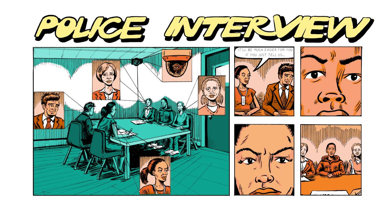 What happens at the police station? What happens in court?