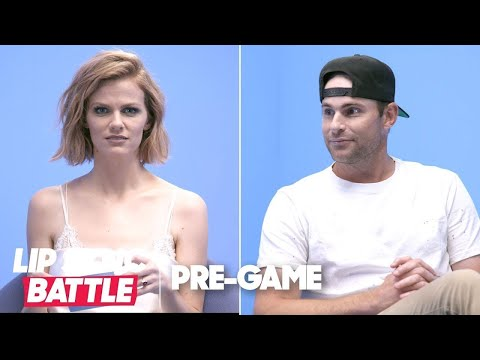 Andy Roddick & Brooklyn Decker Play 'Perfect Match' | Lip Sync Battle Pregame