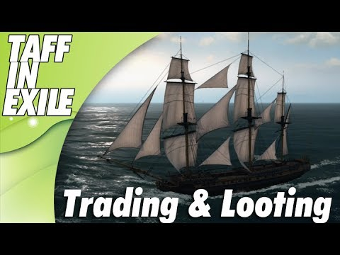 Naval Action | Early Access | Checking out Trading and Looting Sunken Ships