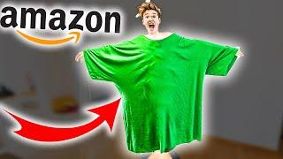 XXXXXXXXXXXXXXXL T-Shirt auf Amazon bestellt!