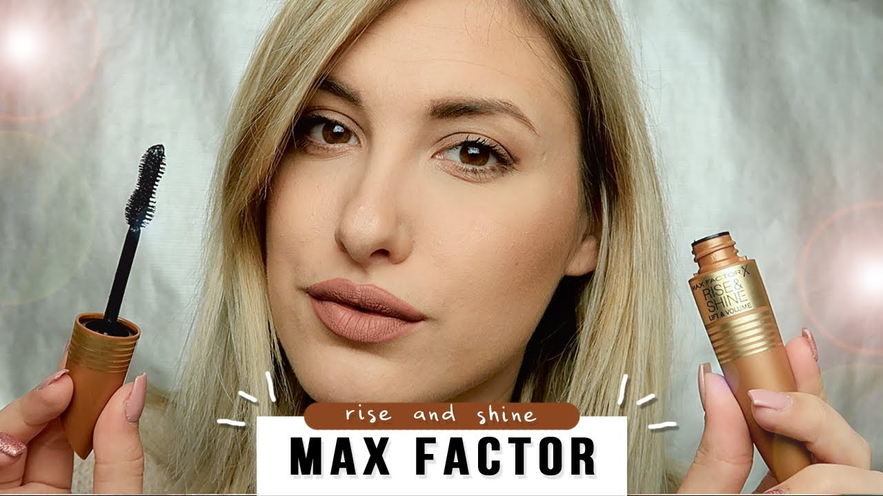 79fefbe09e9 Max Factor Rise and Shine Mascara Review + Demo - YouTube