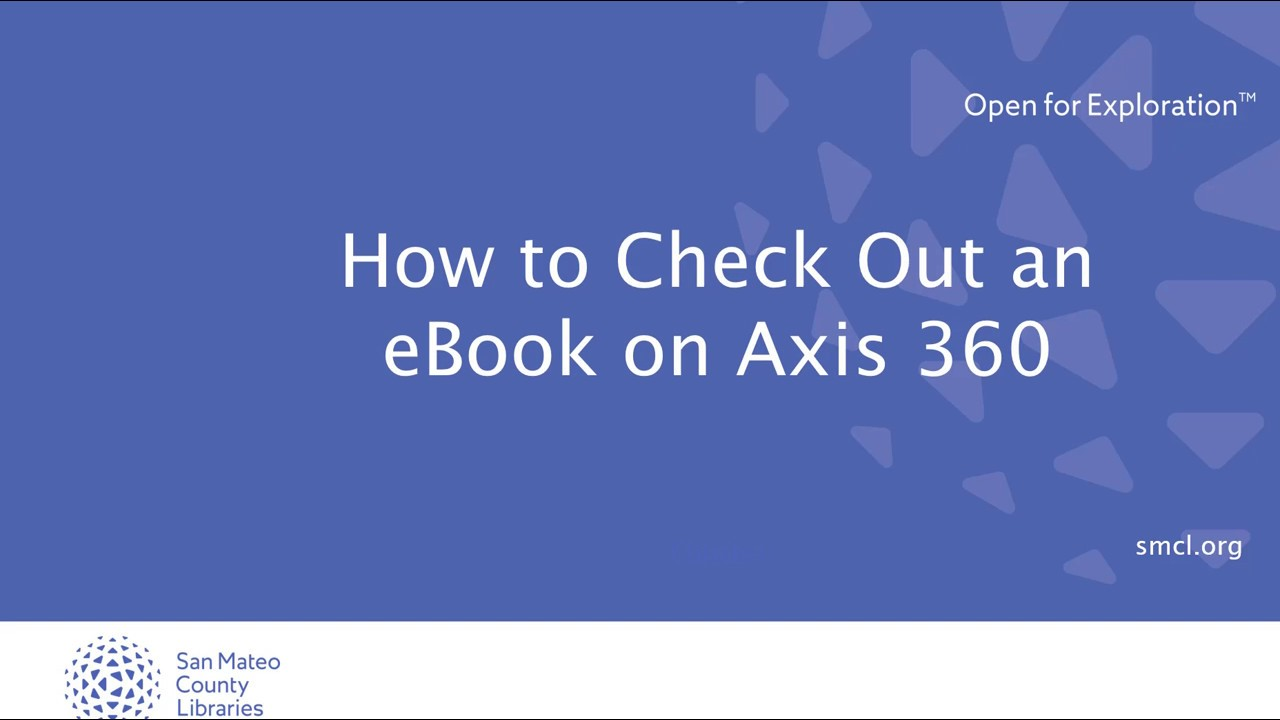 How to check out an ebook on axis 360 youtube fandeluxe Document