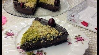 Pişmeyen oreolu çikolata pastası - Kolay bisküvili çikolatalı pasta tarifi - Ev Lezzetleri