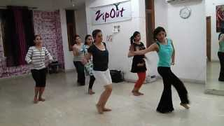Aaja nachle dance choreography part 2