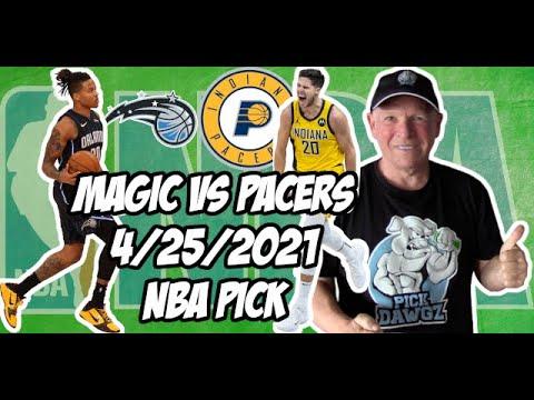 Orlando Magic vs Indiana Pacers 4/25/21 Free NBA Pick and Prediction NBA Betting Tips
