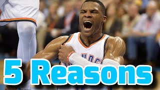 5 Reasons Why Russell Westbrook is OVERRATED