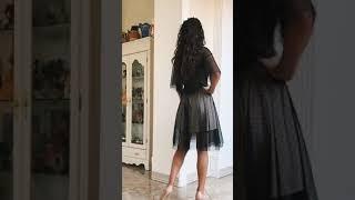 P 1063 Платье коктейльное в мелкую мушку video