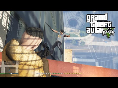 GTA 5 Online PC Lui Calibre and Daithi De Nogla Missions and Mayhem