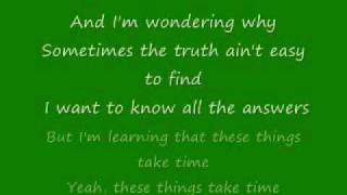 Sanctus Real - These Things Take Time