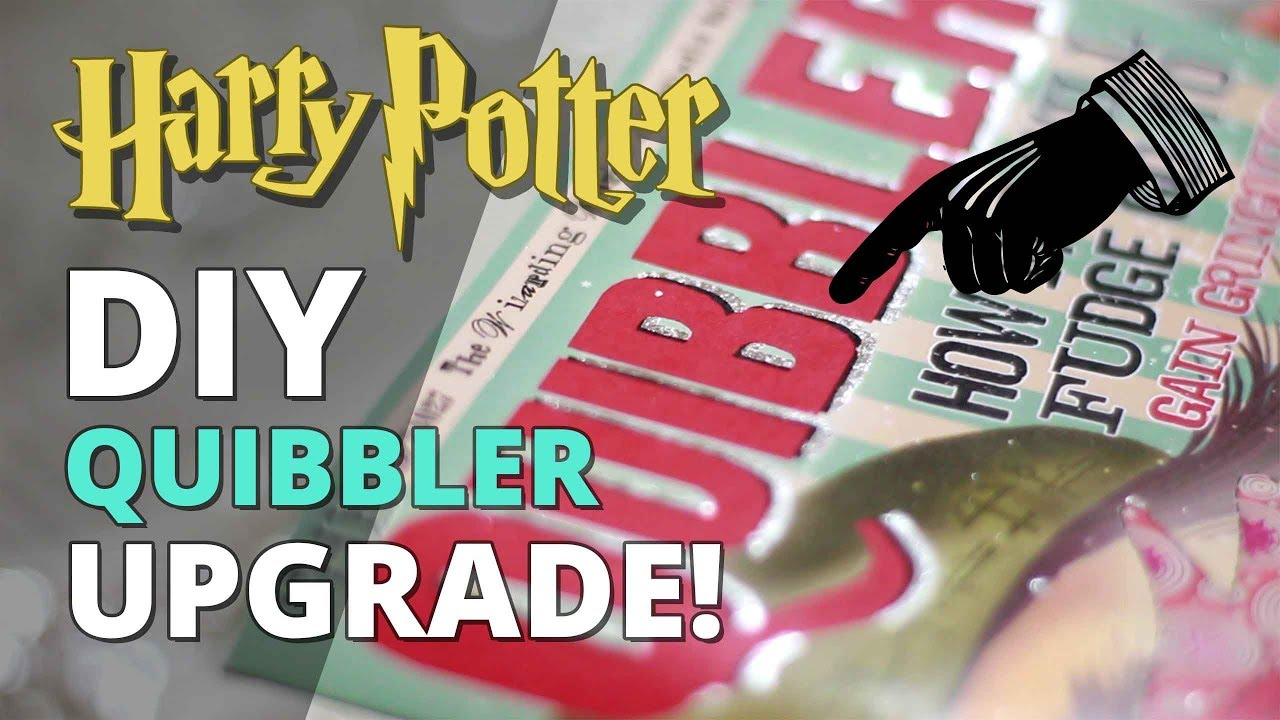 image relating to Quibbler Printable identified as Do it yourself Quibbler Improve with Silver Leaf