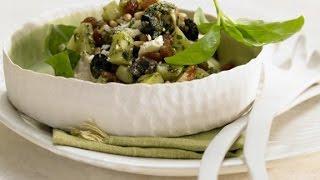 Греческий салат с курицей рецепт. Салат с курицей и картофелем.