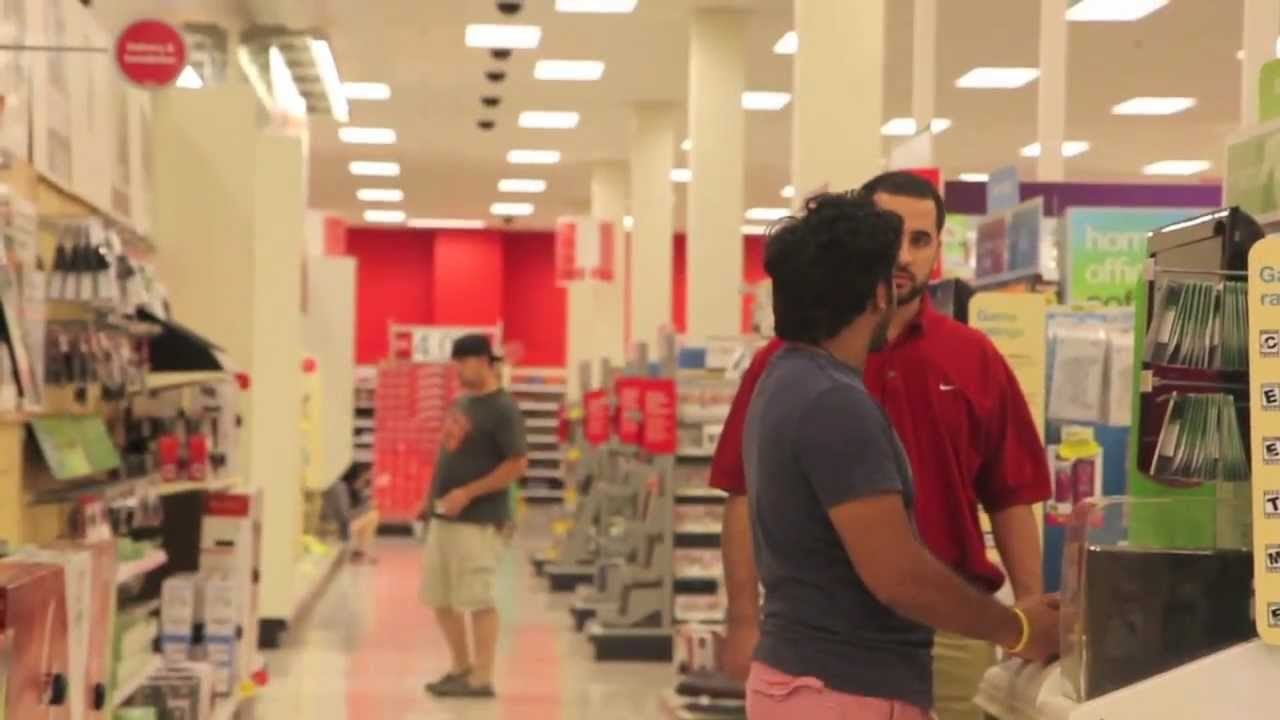 Target Prank: Fake Employees With Rude Customer Service - YouTube