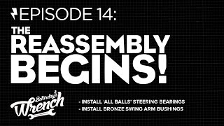 Saturday's Wrench Ep.14: Honda Cb350 Build - Reassembly Begins!