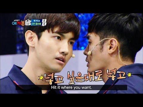 Cool Kiz on the Block | 우리동네 예체능 - The second badminton match! (2013.08.13)