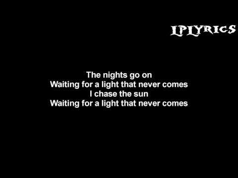 Linkin Park - A Light That Never Comes (Rick Rubin Reebot) [Lyrics on screen] HD