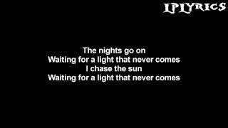 Linkin Park - A Light That Never Comes (Rick Rubin Reebot) [Lyrics on screen] HD