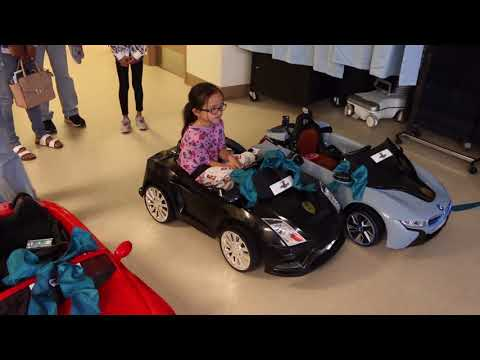 Kids Drive Themselves to OR at Rady Children's Hospital