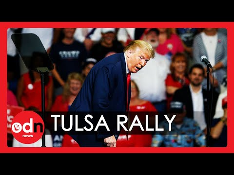 Trump Rally in Tulsa Fails to Draw Expected Crowds, From YouTubeVideos