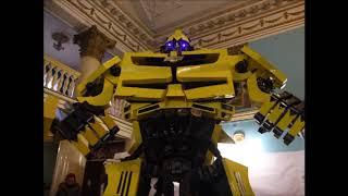 Сделано в гараже: выставка эксклюзивной робототехники в Запорожье