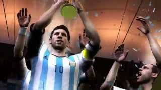 EA SPORTS 2014 FIFA World Cup Brazil - Argentina