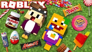 NOUS EAT 10,000 SWEETS ON 1 DAY IN ROBLOX!