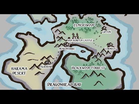 Fantasy Map Making | Tectonic Plates Method