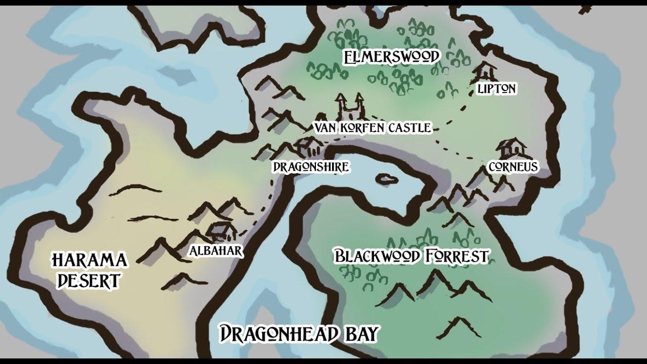 Fantasy Map Drawing Tectonic Plates Method Youtube