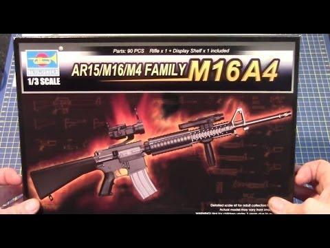 TRUMPETER® 01914 AR15//M16//M4 Family Mk.18 Mod O CQBR in 1:3