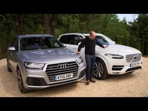 Audi Q7 vs Volvo XC90 review | TELEGRAPH CARS