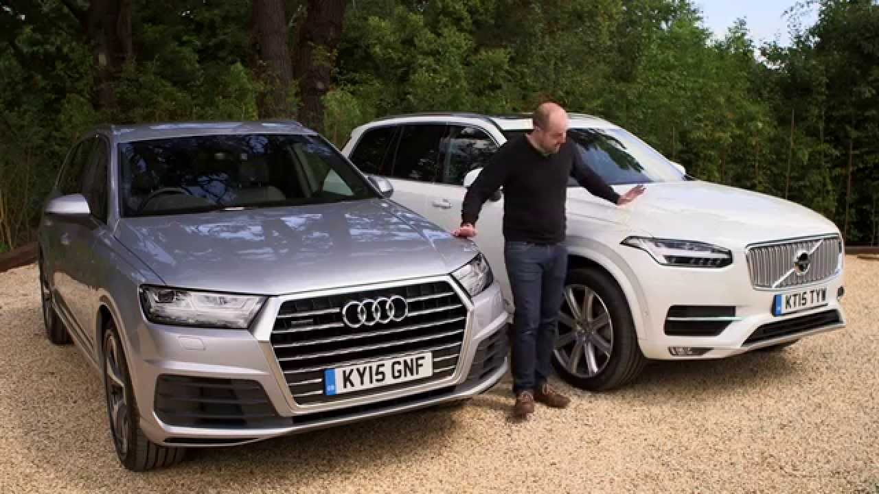 Audi Q7 Vs Volvo Xc90 Review Telegraph Cars Youtube
