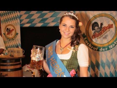 Monica Gasbichler ist die Miss Herbstfest 2012!