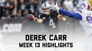 Derek Carr Leads Another Comeback, Throws 2 TDs! NFL Week 13 Player Highlights