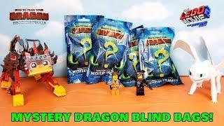 How To Train Your Dragon 3 Hidden World Mystery Blind Bag Toys, UltraKatty & Light Fury