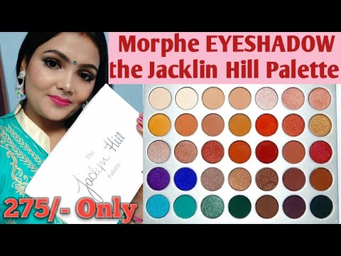 Morphe eyeshadow palette review //Morphe Eyeshadow The x Jaclyn Hill Palette/Best Eyeshadow palette thumbnail