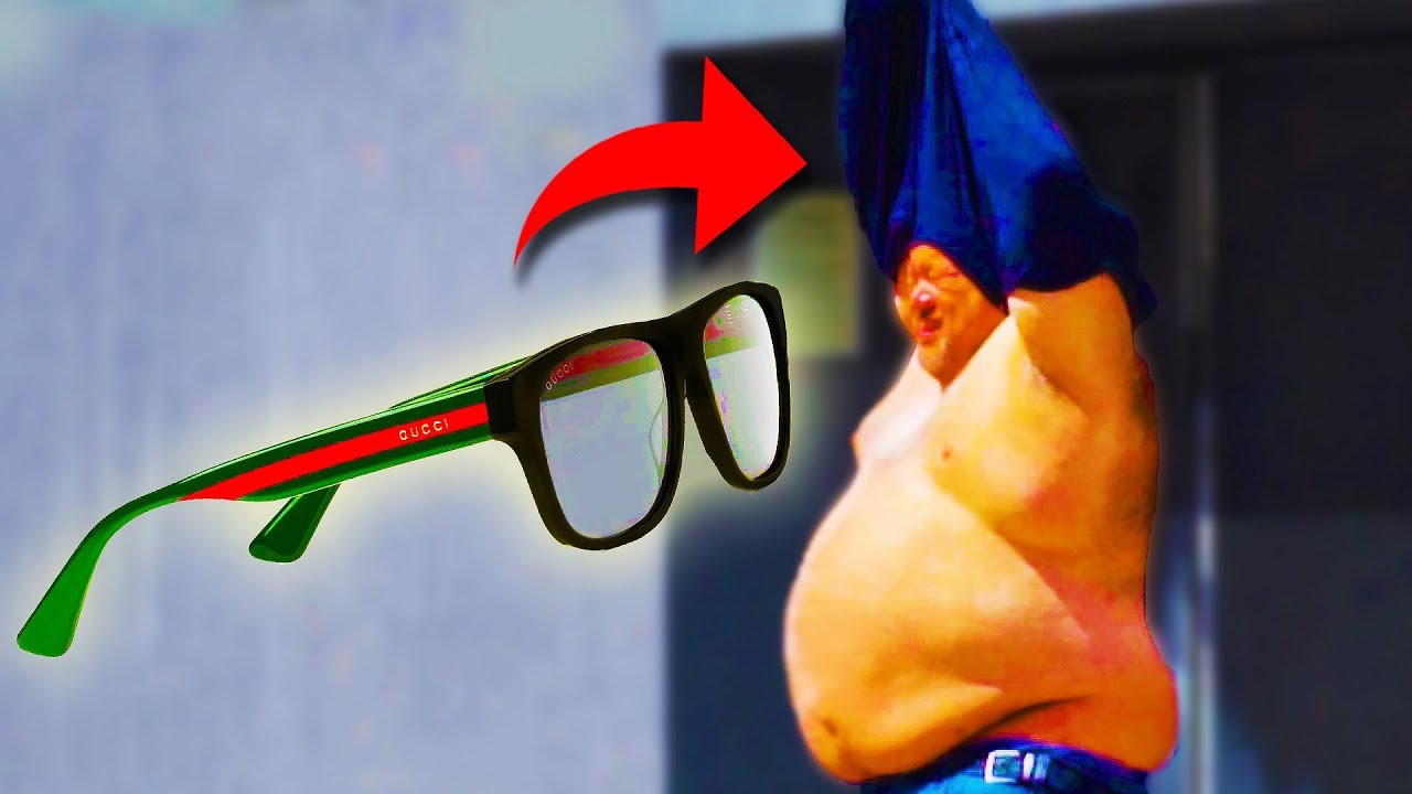 GUCCI GLASSES BAIT PRANK!!